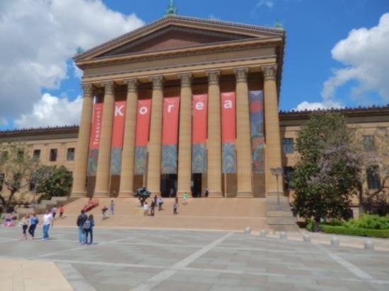 Philadelphia Museum of Art: outside photo