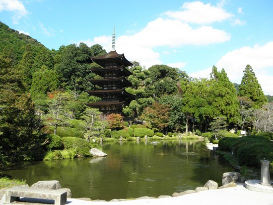 Ruriko Temple Five-Story Pagoda : 루리코지(瑠璃光寺)