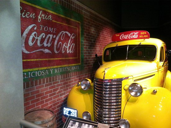 World of Coca-Cola: Delivery truck