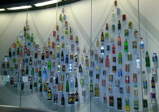 World of Coca-Cola: Various products of Coca Cola company