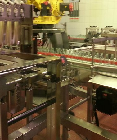World of Coca-Cola: Production line