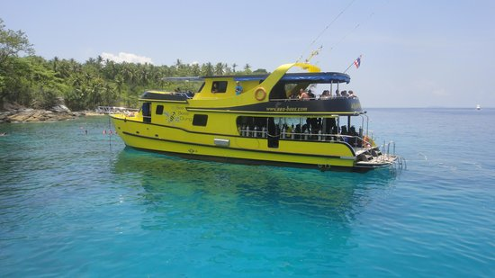 Sea Bees Diving - Chalong: Aragon one of Seabees Dive boats