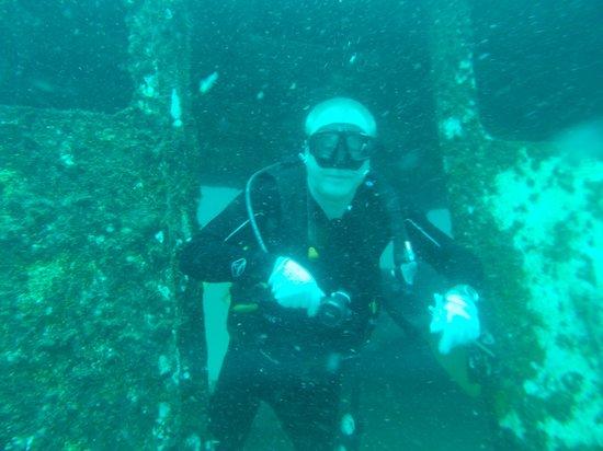 Sea Bees Diving - Chalong: Self wreak diving