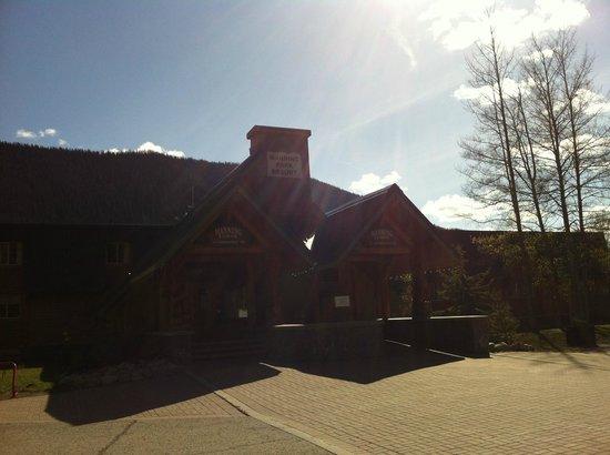 Manning Park Resort : Late afternoon at Manning Park