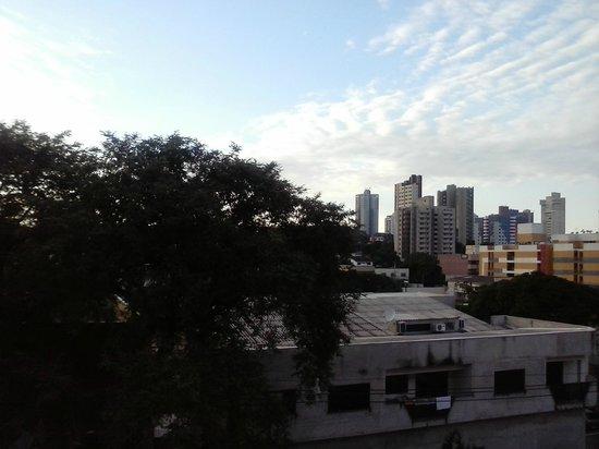 Foz Plaza Hotel: Vista do apartamento 326.