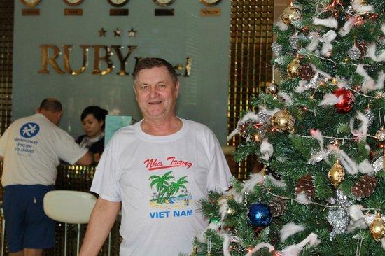Ruby Hotel Nha Trang : Холл