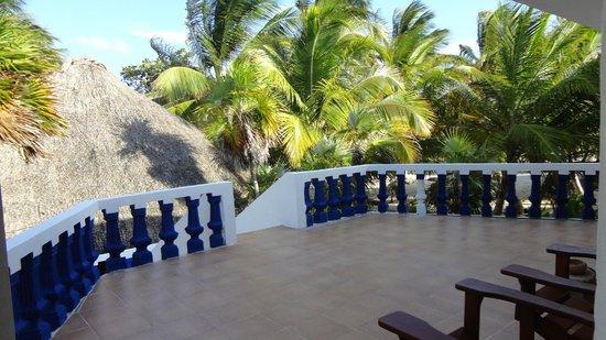 Playa Sonrisa : TERRACE OF MY ROOM