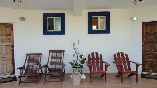 Playa Sonrisa: FRONT OF MY ROOM