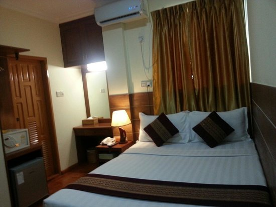 Hotel Yadanarbon : My standard room