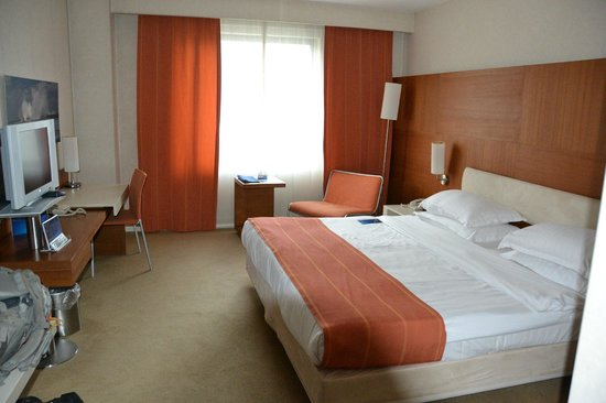 Radisson Blu Conference & Airport Hotel: Hotel room