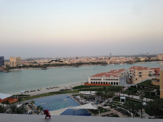 The Ritz-Carlton Abu Dhabi, Grand Canal: View from 2853