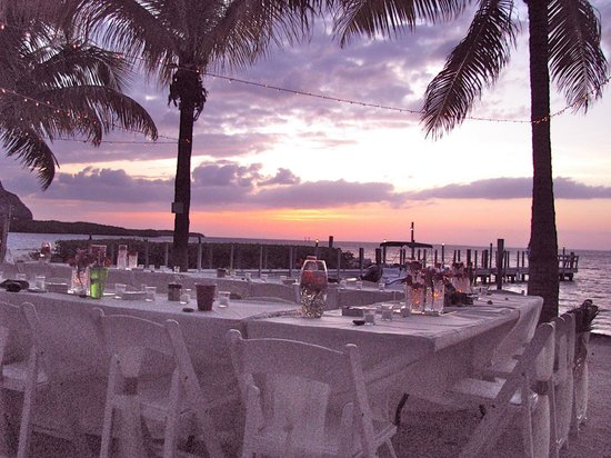 Atlantic Bay Resort: This was the wedding setting on the front grounds.