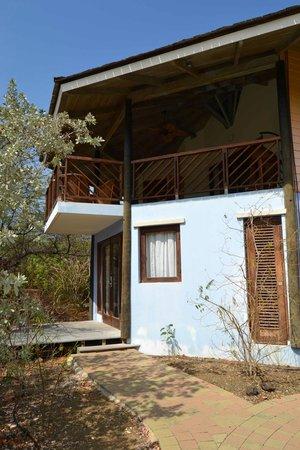 Kura Hulanda Lodge & Beach Club: camera garden