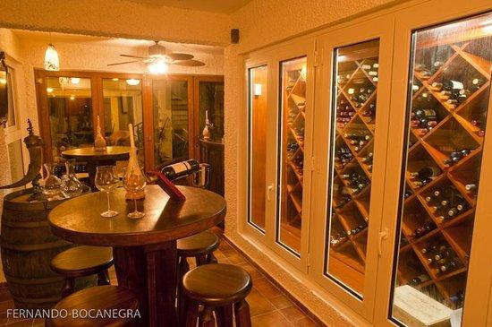 Nuestra cava de vinos picture of casa guardia beach - Cavas de vinos para casa ...