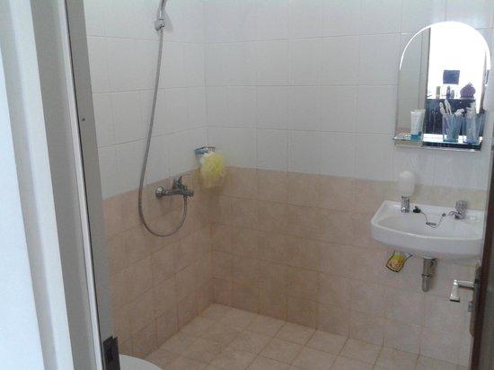 Hotel Grand Kartini : kamar mandi yang bersih