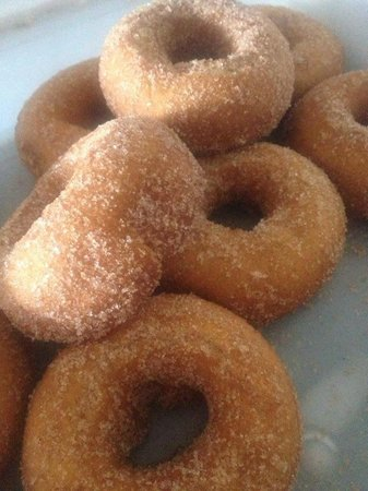 Sugar Shack : Apple cider and Maple glazed donuts every Sat & Sun!