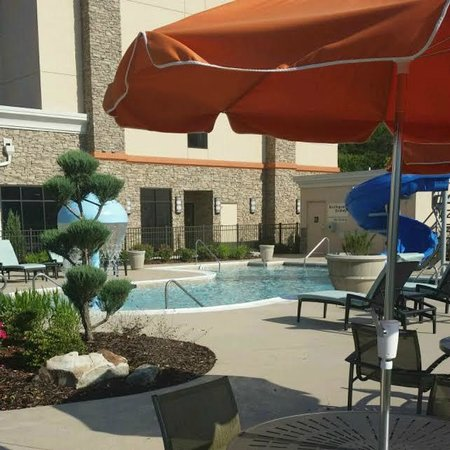 Hampton Inn Chattanooga West/Lookout Mountain : Peaceful.....