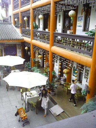 Wenjun Mansion Hotel : Eet gedeelte