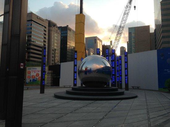 Park Hyatt Seoul: Monumento ao G20