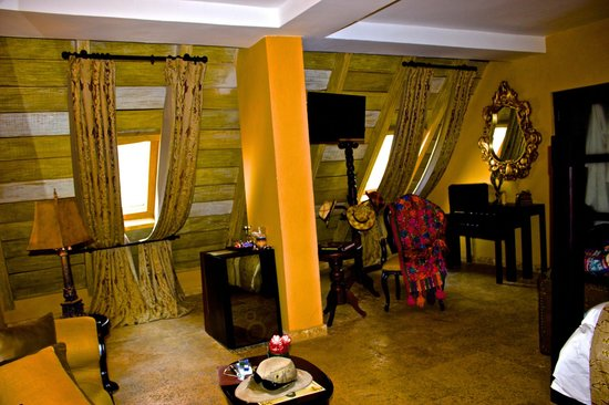 San Pedro Hotel Spa : our 1st room
