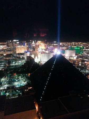 Mix - Las Vegas: View from the lounge area!