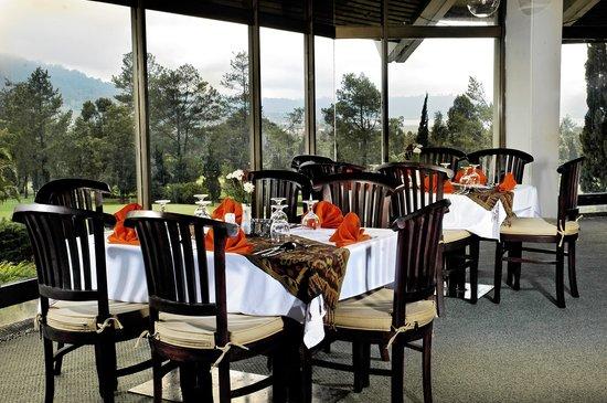 Handara Golf & Resort Bali: Nice lunch after doing my golf activity