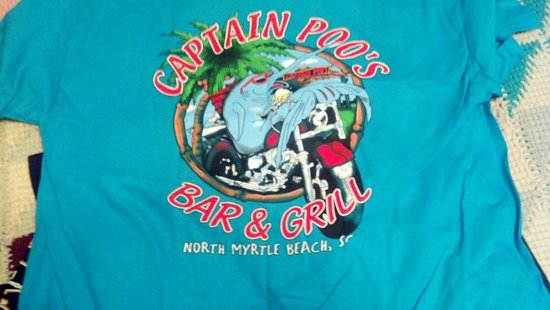 Captain Poo's Blue Marlin Yacht & Fishing Club: My shirt it is cooler then yours