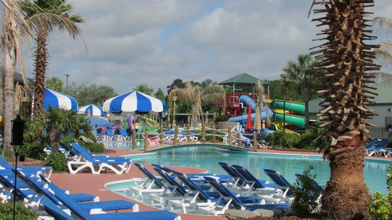 Cajun Palms RV Resort : pool area