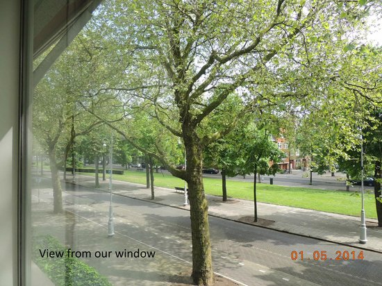 Bilderberg Garden Hotel : View from our window