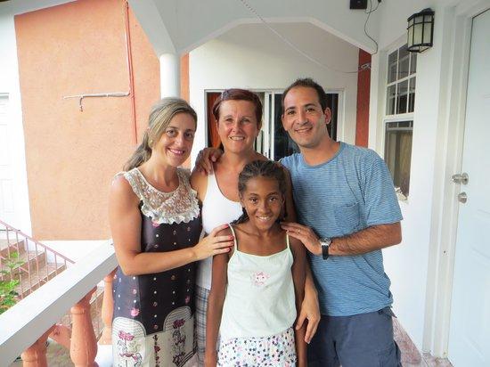 Polish Princess Guest House: con barbara y su hija nicoleta