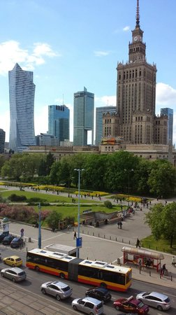 Polonia Palace Hotel: View from room
