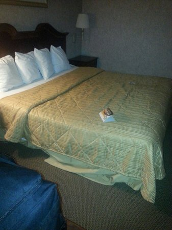 Milesburg, PA: Saggy old bed