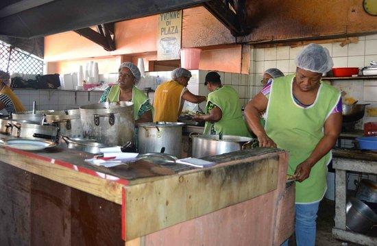 Plaza Bieu : cucina