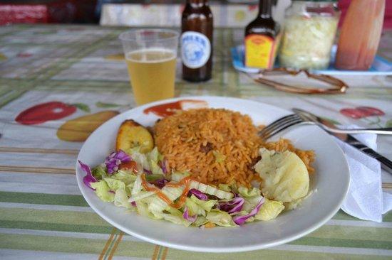 Plaza Bieu : piatto vegetariano