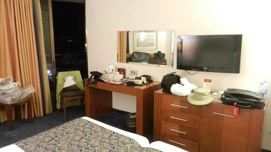 Leonardo Plaza Hotel Tiberias: dressing area