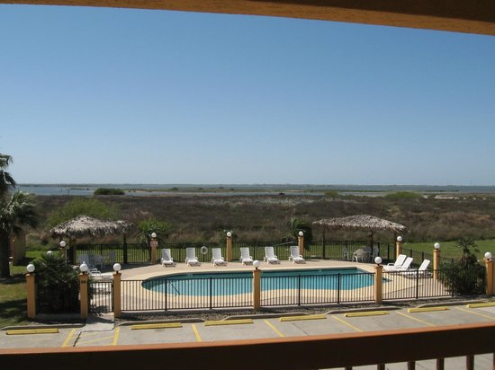 Best Western Padre Island: View--overlooking pool and Packary Channel