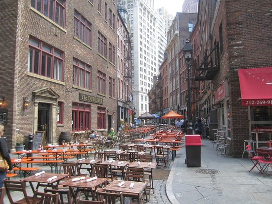 Free Tours by Foot: A great look down Stone Street, one of the oldest in the city.