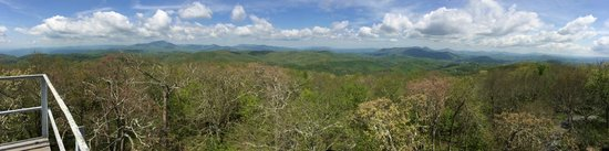Vx3 Trail Rides: 5 states from top of fire tower