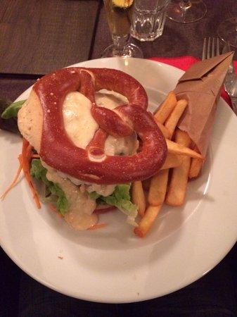 Vince'Stub: Bretzel burger
