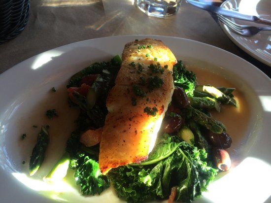 Isa: Not a brilliant pic but the halibut was delicious