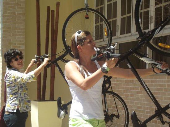 Hodelpa Caribe Colonial: tem bicicletas