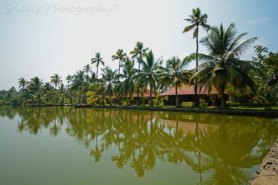 Kondai Lip Backwater Heritage Resort: View of the lake facing rooms