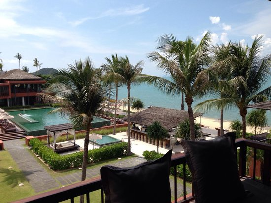 Hansar Samui Resort: View