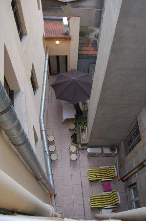 Hotel de la Tour : Terrasse hôtel