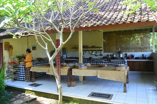 Ketut's Bali Cooking Class: The kitchen setting