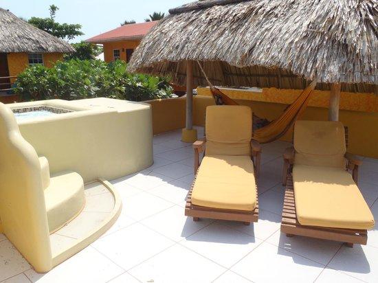 Seaside Cabanas: roof top