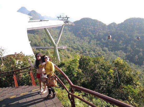 Sky Bridge de Langkawi: Puncak