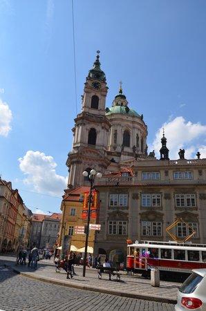U Kostela (near church): Restaurante U Kostela- Praga