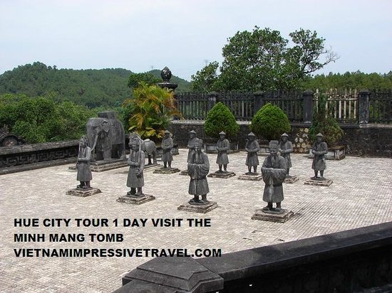 Vietnam Impressive Travel - Private Day Tours: hue city tour 1 day visit the tomb
