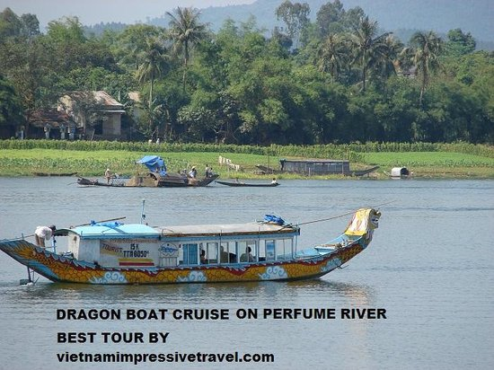 Vietnam Impressive Travel - Private Day Tours: dragon boat cruise 1 day in hue